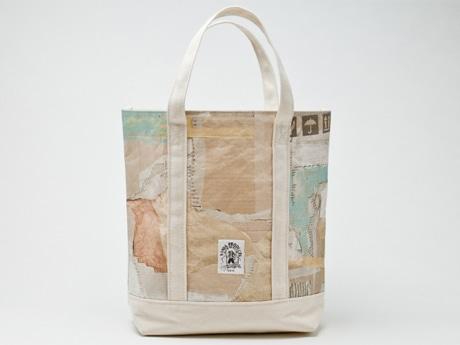「山谷プロダクツ」の紙袋トート
