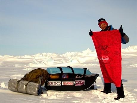 カナダ北極圏単独徒歩冒険500キロを成功させた阿部雅龍さん