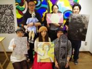 浅草で室内を埋め尽くすウオールアートプロジェクト公開-家賃0円シェアハウス