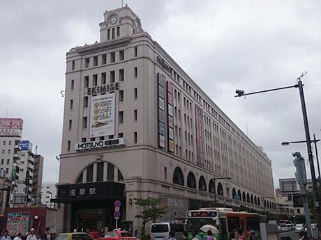 浅草駅は両会場の最寄り駅