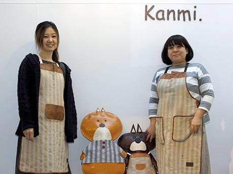 浅草にファッション小物ブランド新店 がま口や水玉、猫型などの革小物そろえる