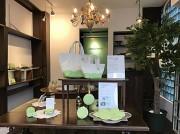田原町に「メロン柄」の革小物ショップ 上品で爽やかな「驚き」提供
