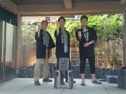 浅草で「一撃」瓦割り体験 東京五輪正式種目の「空手」も後押し、最高記録は20枚
