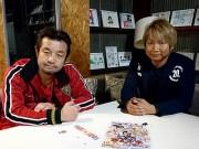 浅草でプロレスラー日高郁人さん20周年記念パーティー 鷹の爪団キャラ人気じわり