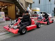 浅草にレンタルカート店 地域密着型の観光ツールを目指す