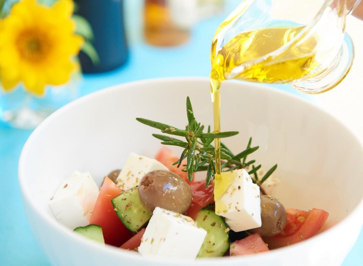 ユネスコ無形文化遺産にも登録された「地中海食」を取り入れたメニュー