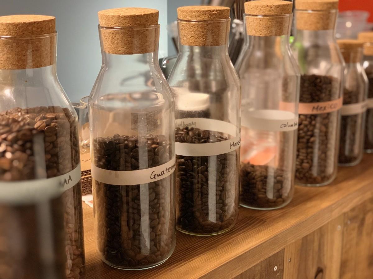自家焙煎するコーヒー豆