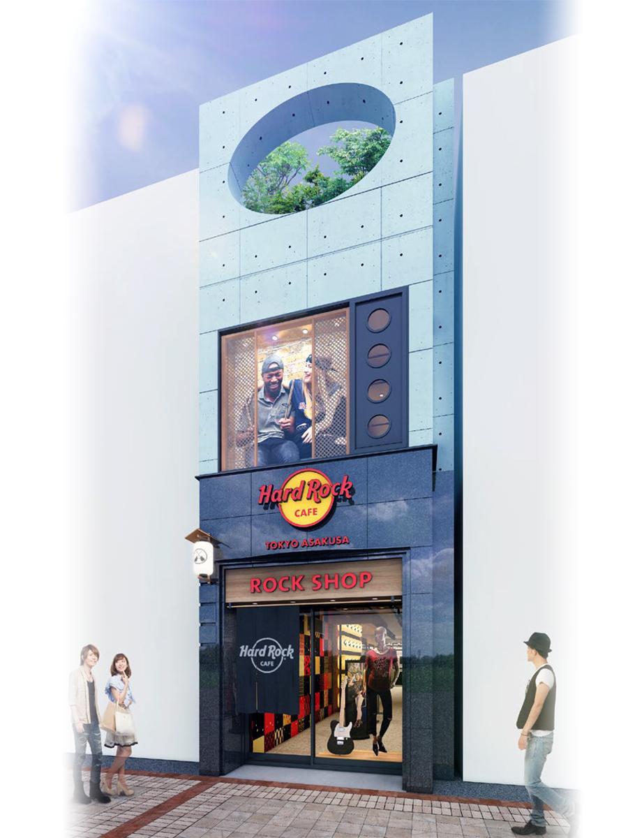 開業する店舗の完成イメージ