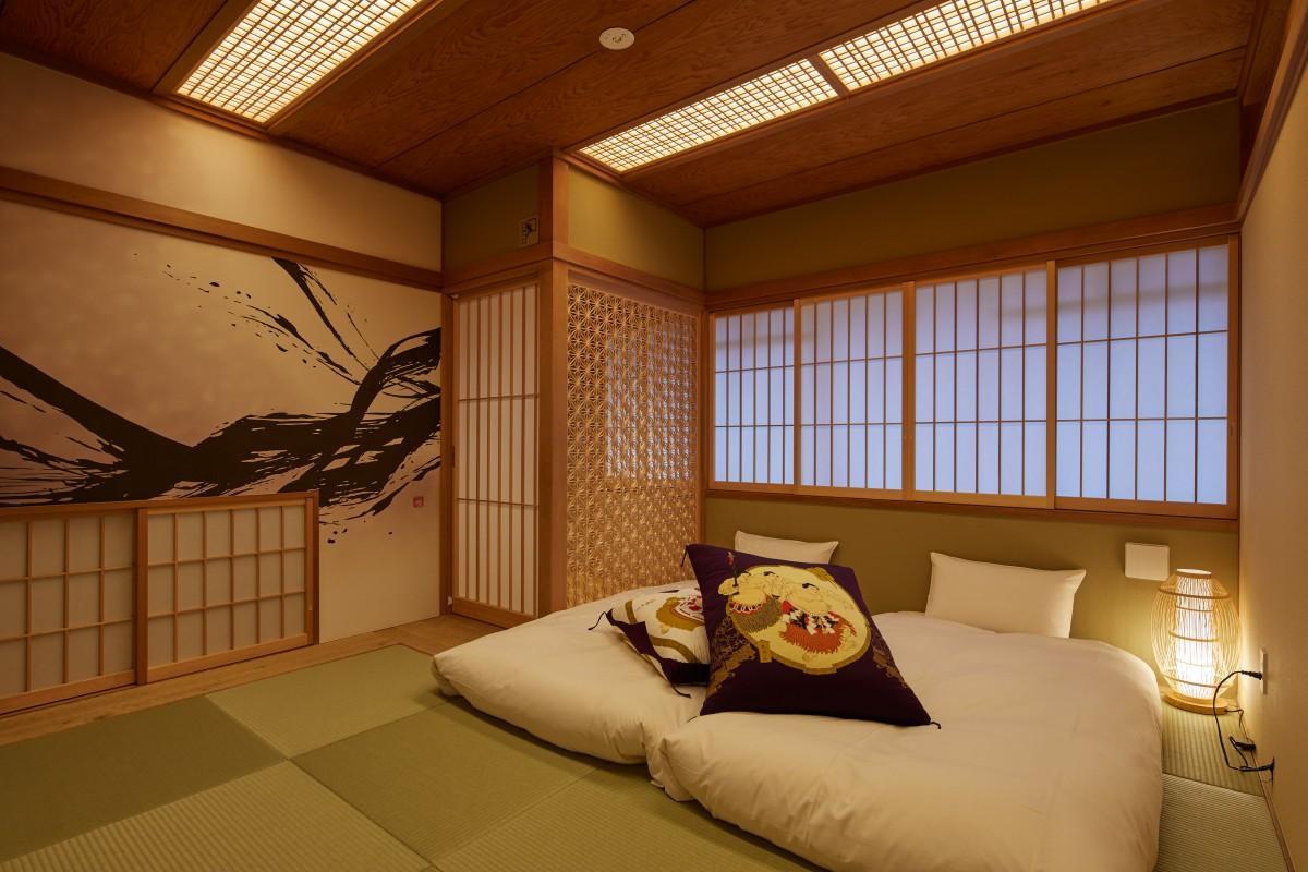 九重部屋時代の和室を生かしたデラックススイート ©2019 STAY JAPAN CO.LTD.All Rights Reserved.