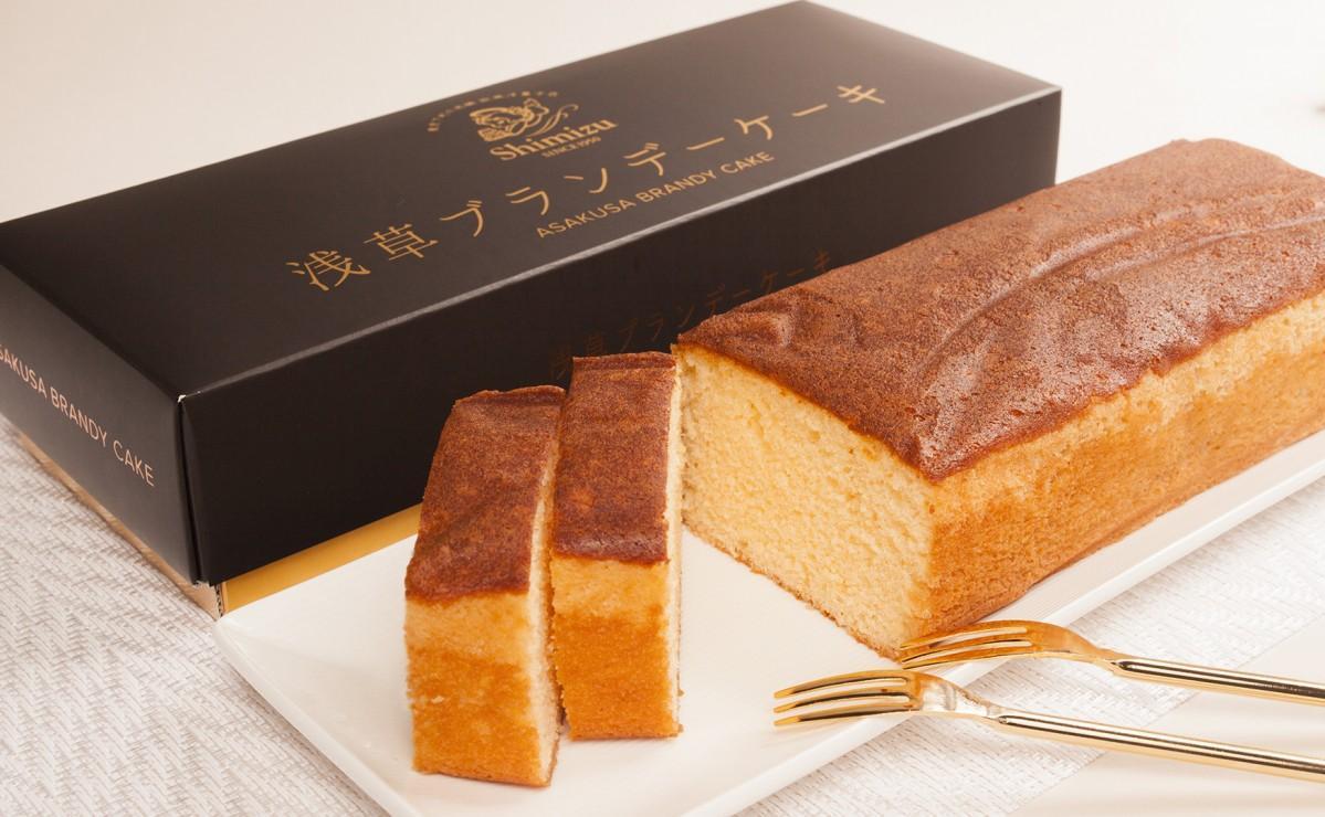 日本発祥スイーツ「ブランデーケーキ」