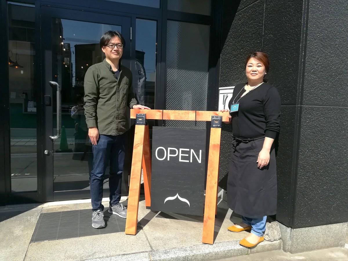 代表・山田さん(左)とスタッフ・北林さん(右)