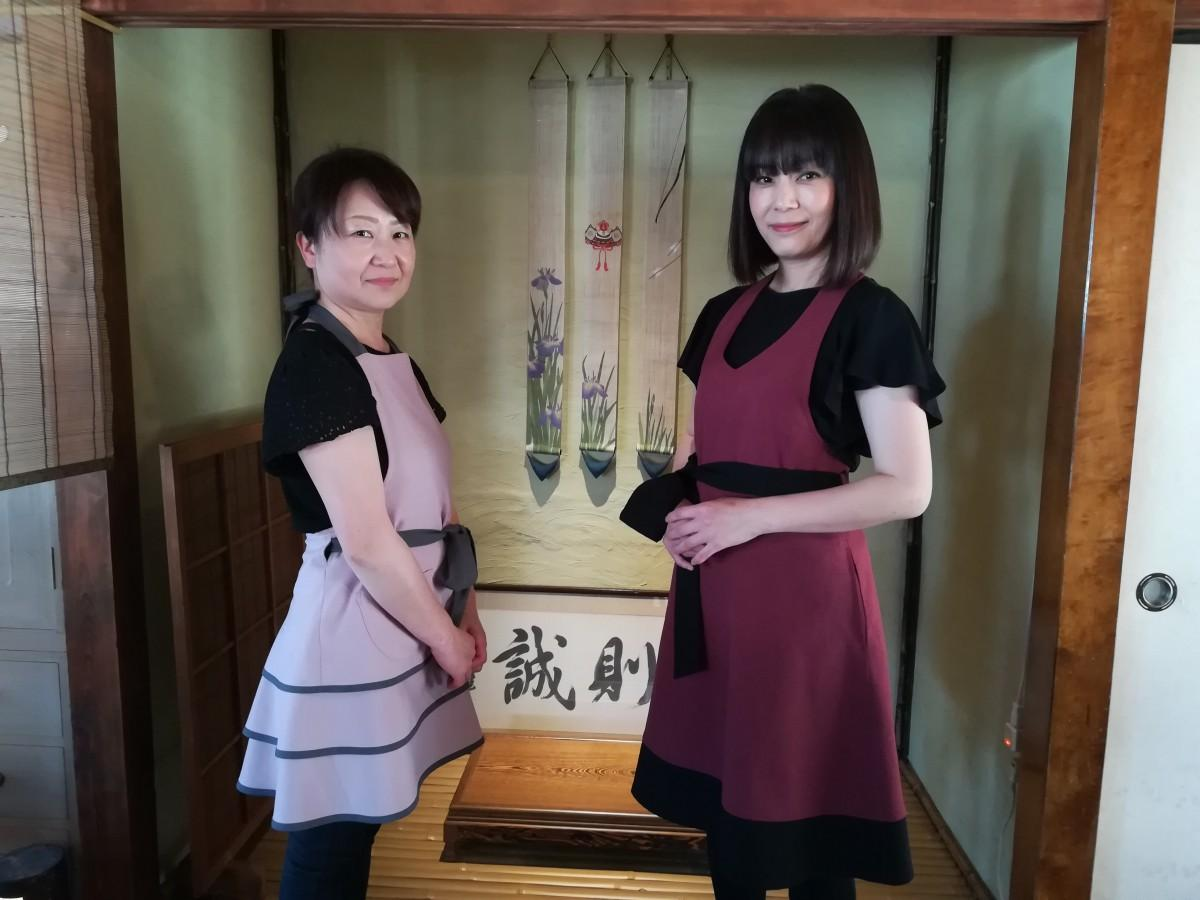 左から、シェフの広田さんとオーナーの室井さん