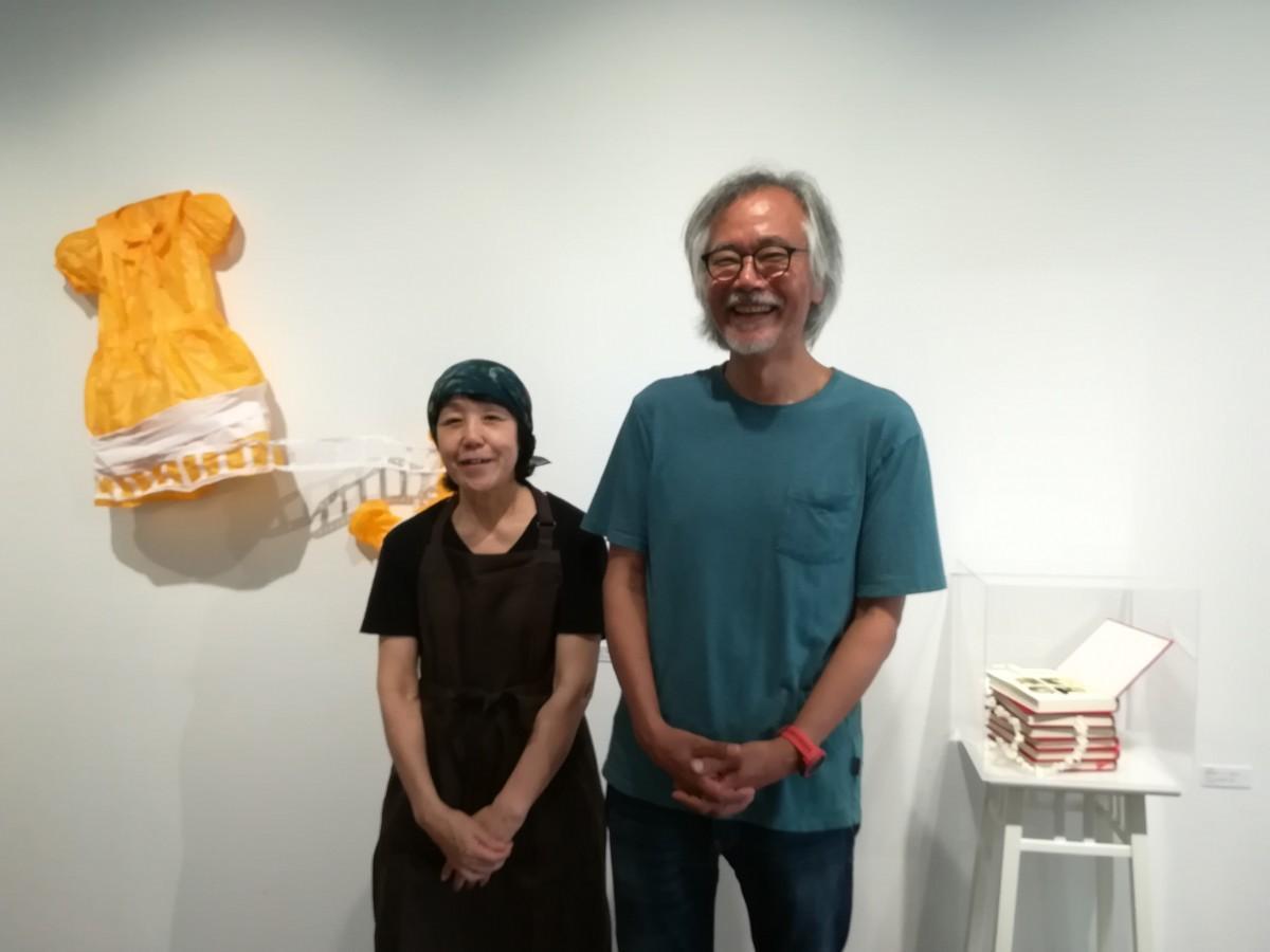 代表の岩本圭司さん夫婦