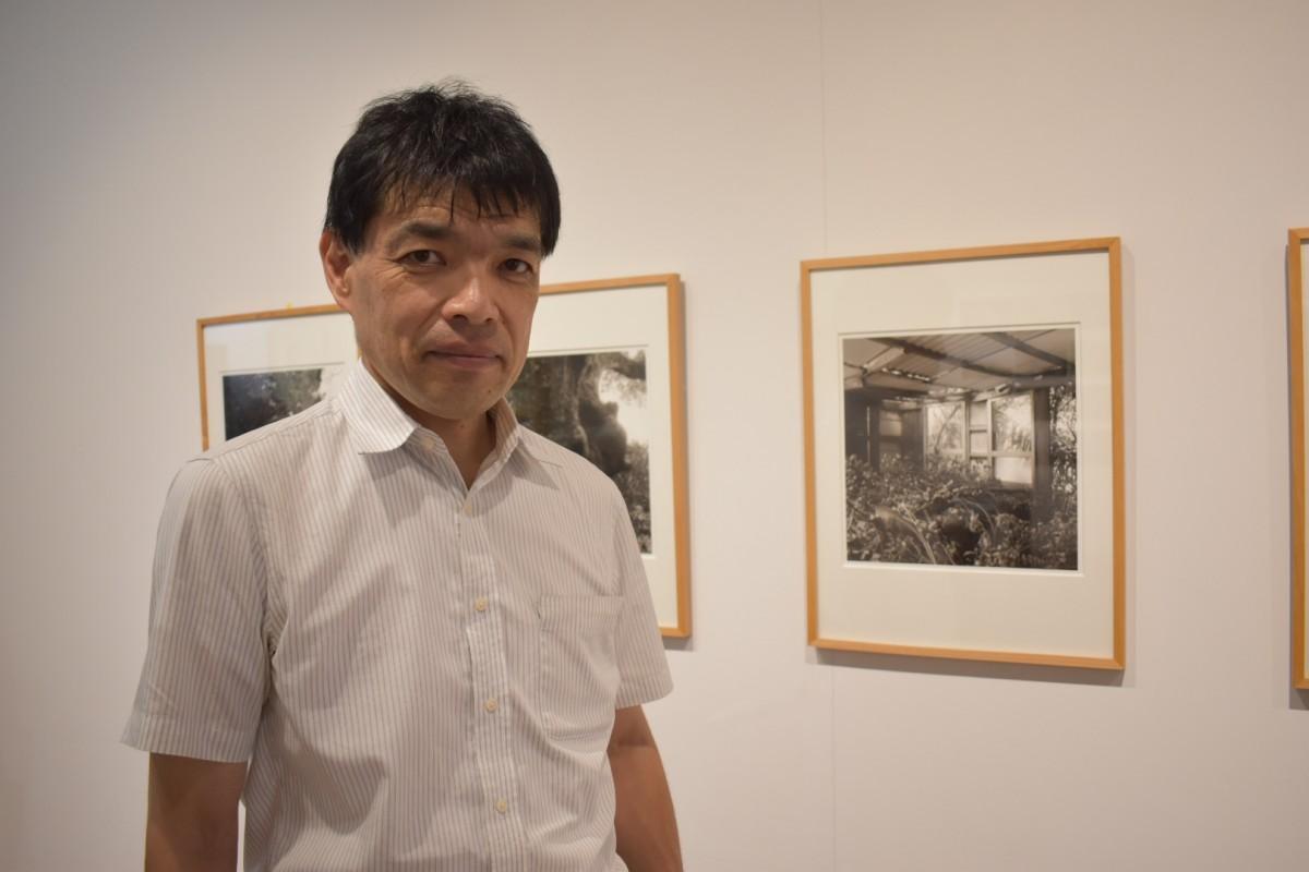 篠原誠司さんと、沖縄「久高島」の写真
