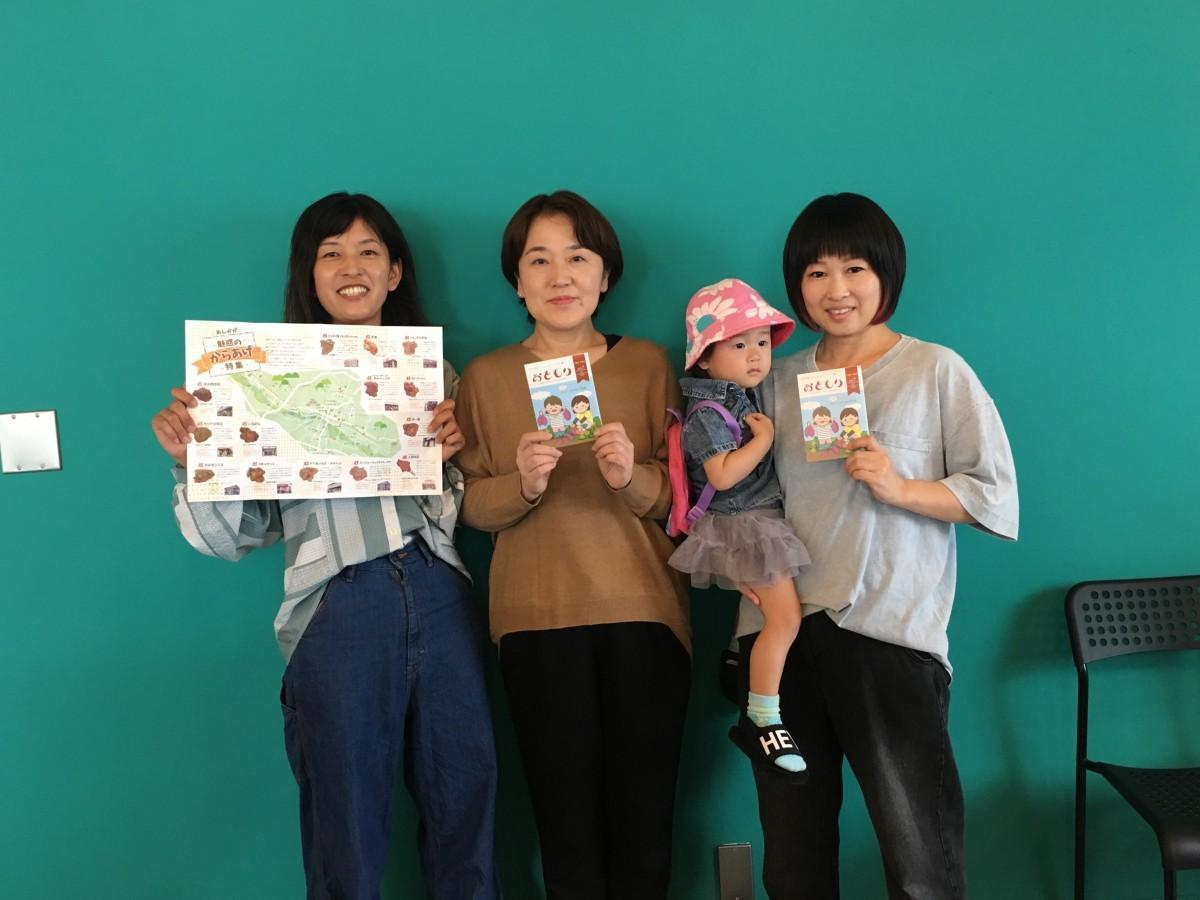 制作メンバーの田嶋さん、松村さん、石川さん(左から)
