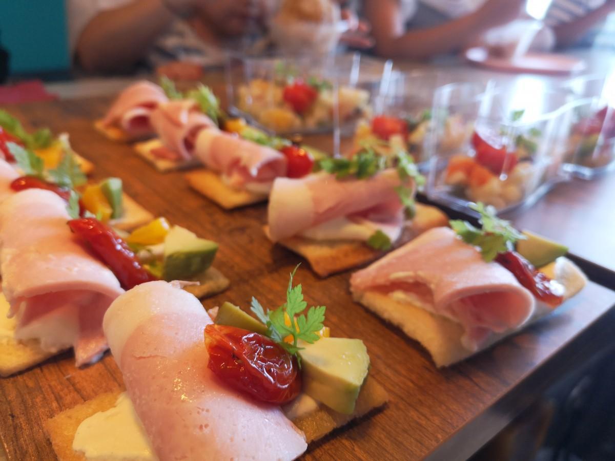 過去にマチノテでのイベントで提供された「Rina Dish」のデリ