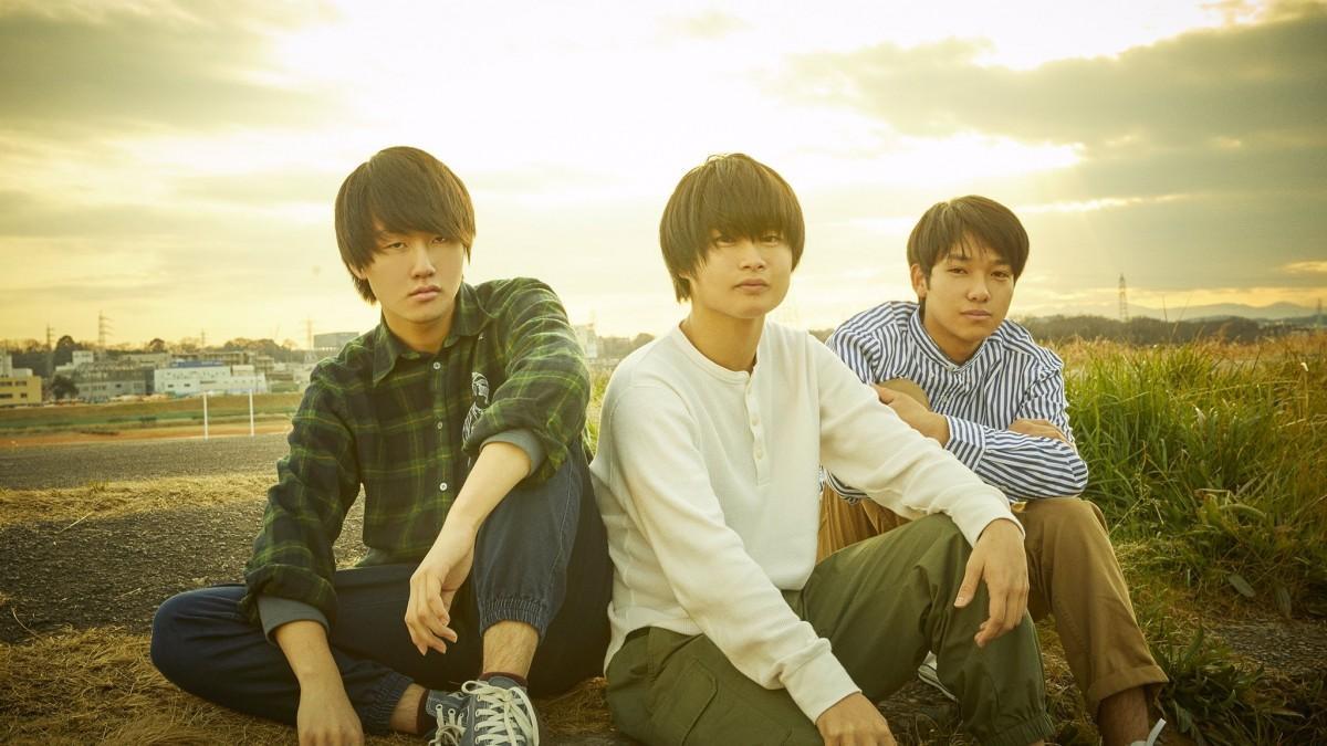 「fusen」想田匠深さん、林龍佑さん、岡野創太さん(左から)写真提供=ソニー・ミュージックアーティスツ