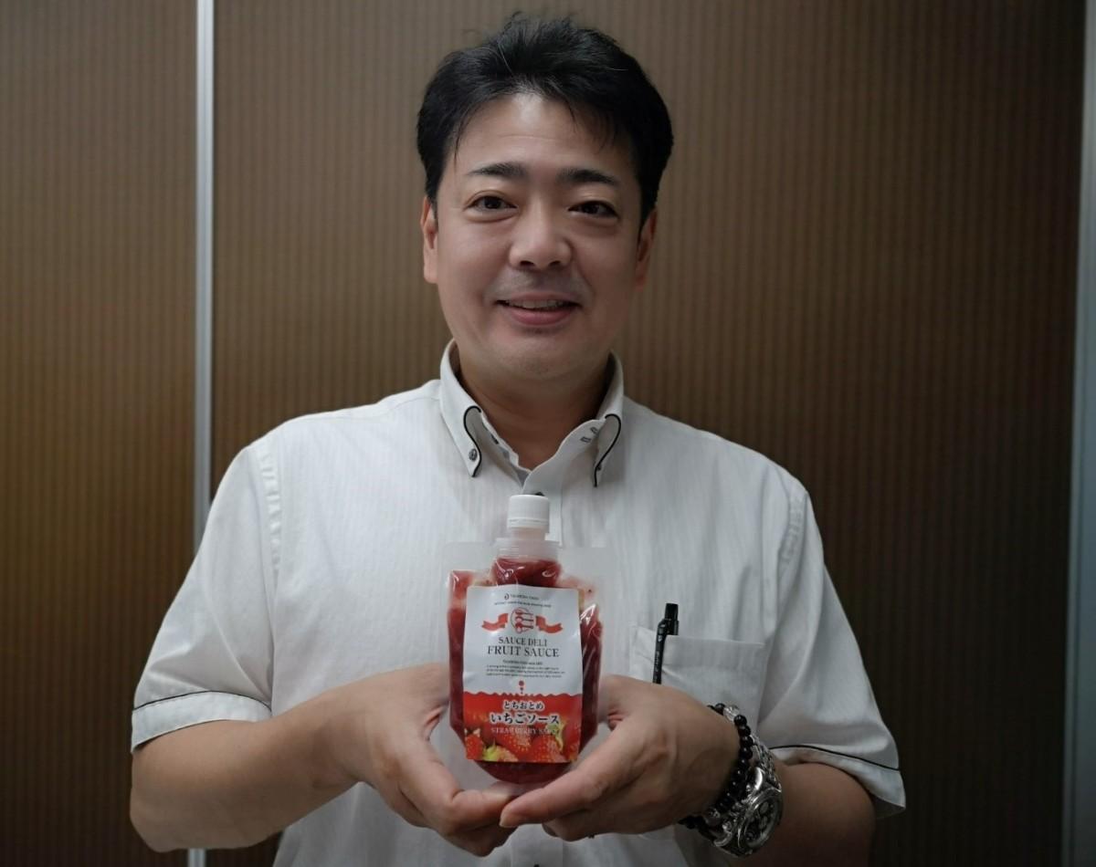 月星食品5代目社長の長沼幹雄さん
