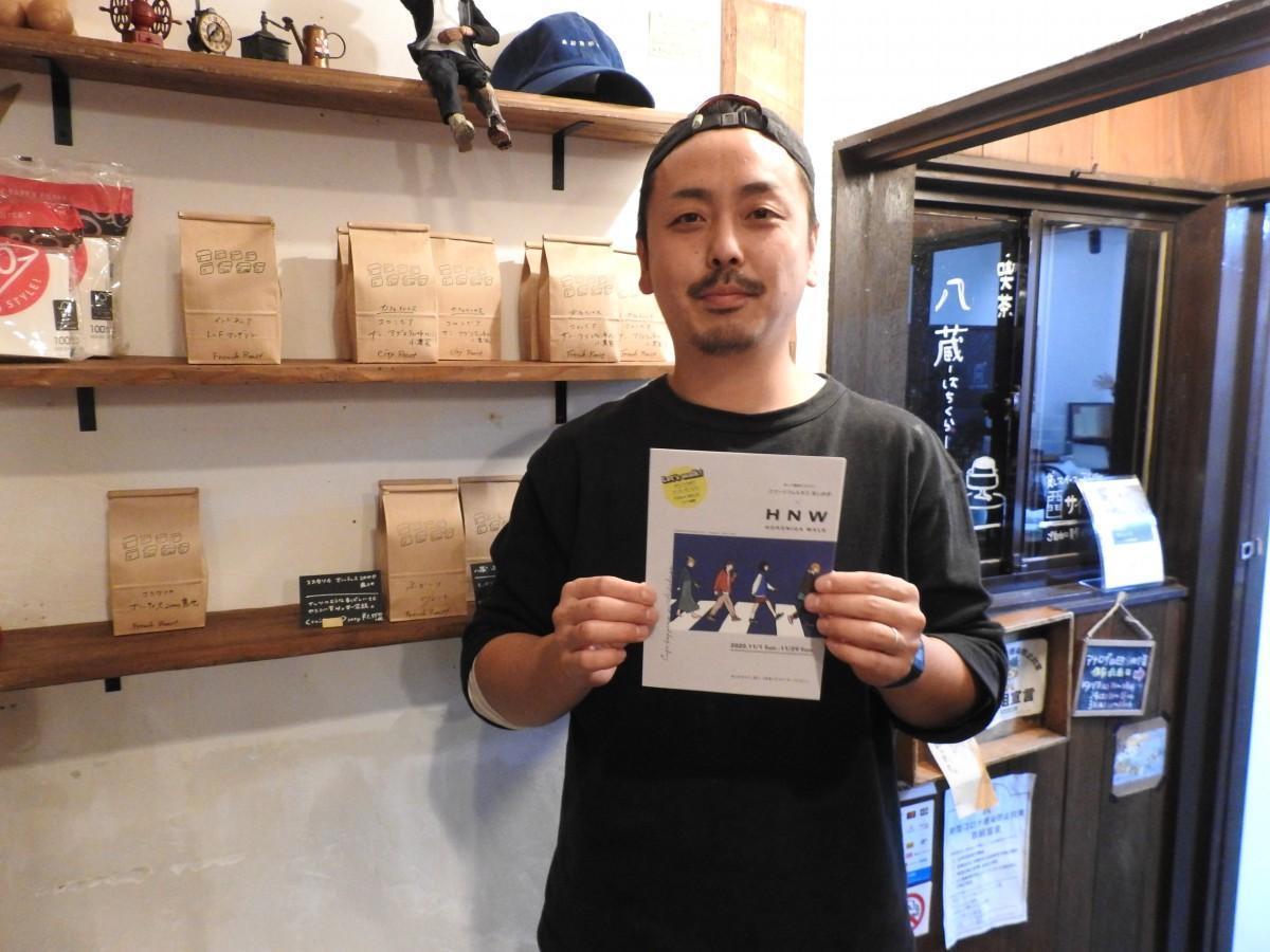「喫茶 八蔵」梁川健人さん
