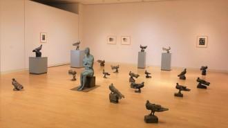 足利市立美術館で「柳原義達展」 90点の作品で足跡たどる