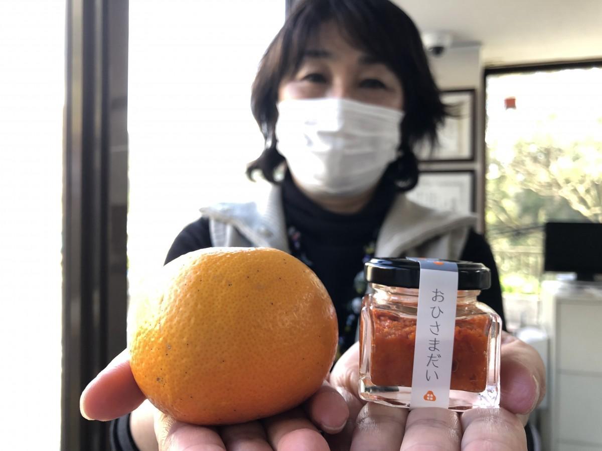 「おひさまだい だいだい胡椒」を開発した山田屋水産・福島瞳取締役