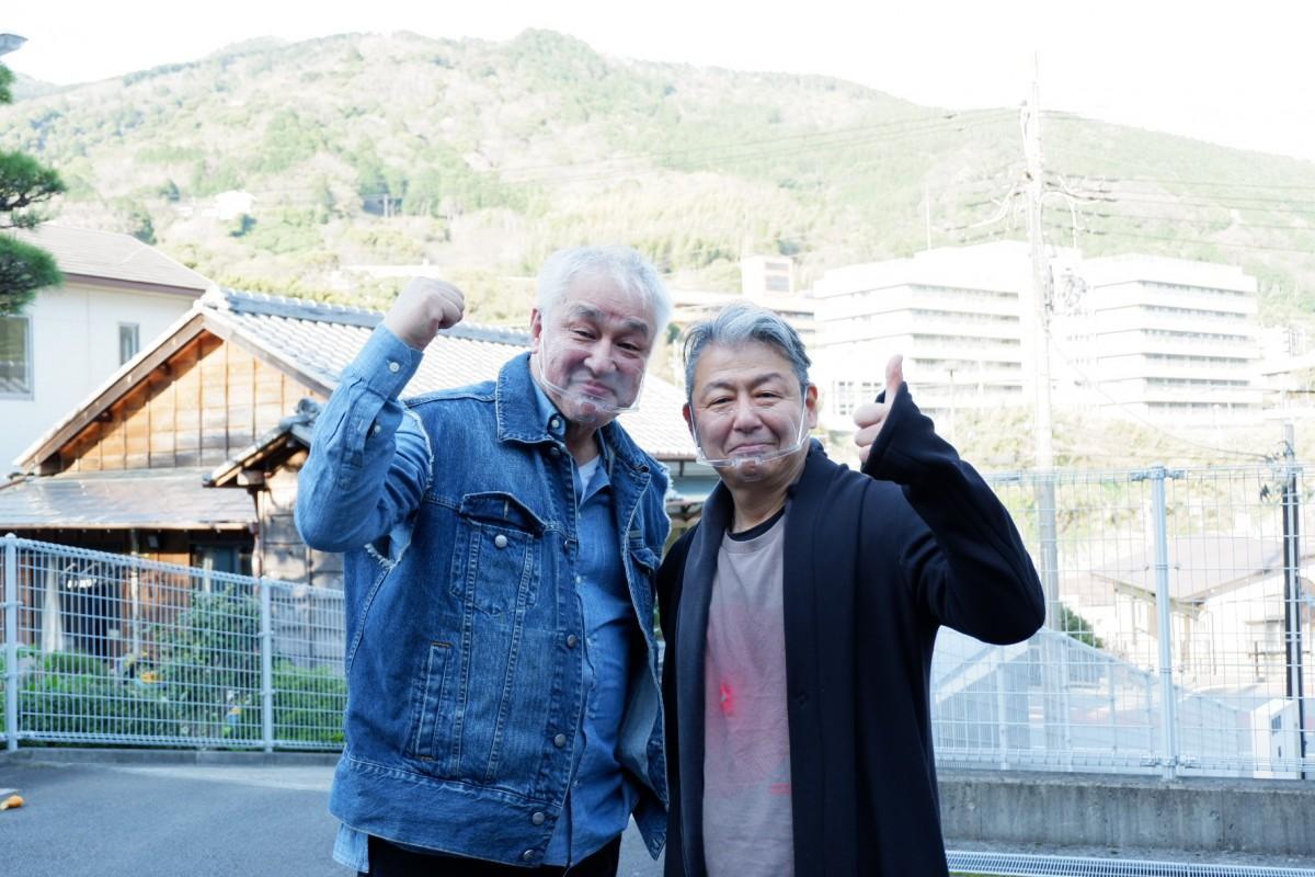 見どころを熱く語る原田大二郎さんと佐藤正治さん