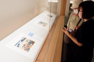 MOA美術館で「冨嶽三十六景」「東海道五十三次」展覧 初のデジタル端末のクイズ式