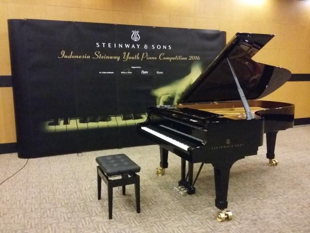 バリ島のピアノコンクールでスタンウェイ社のグランドピアノの音色が響いた
