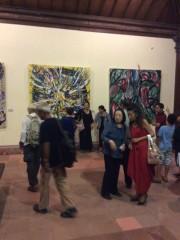 日本人アーティスト・ますだたくじさん、バリ島ウブドの美術館で個展