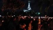 バリ島ププタン広場で「自由と平和を祈る」集会