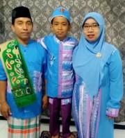 バリ島のイスラム教徒らが「イード・アル=フィトル」 ラマダーンの終了後の祝祭