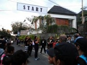 バリ島でウオーキングイベント「ジャランセハット」 500人参加