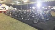 バリ島でアンティーク車とバイクの展示会