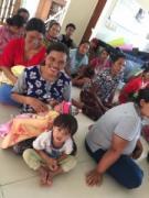 バリ島の助産院が被災者受け入れ 世界に向け寄付を呼び掛け