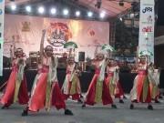 バリ島の私立外国語大で「日本文化祭」 よさこい披露も