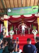 バリ島でヨギーニ1000人が集まりセレモニー