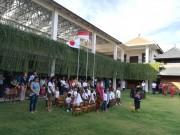 バリ中央子ども園で初の卒園式 日本の教育方式と組み合わせ
