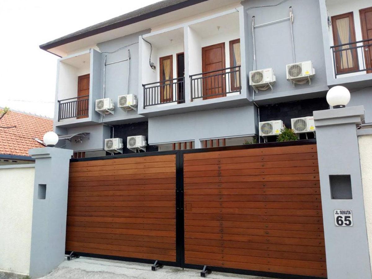 バリ経今年上半期PV1位となった「家具・キッチン付き長期滞在型アパート」
