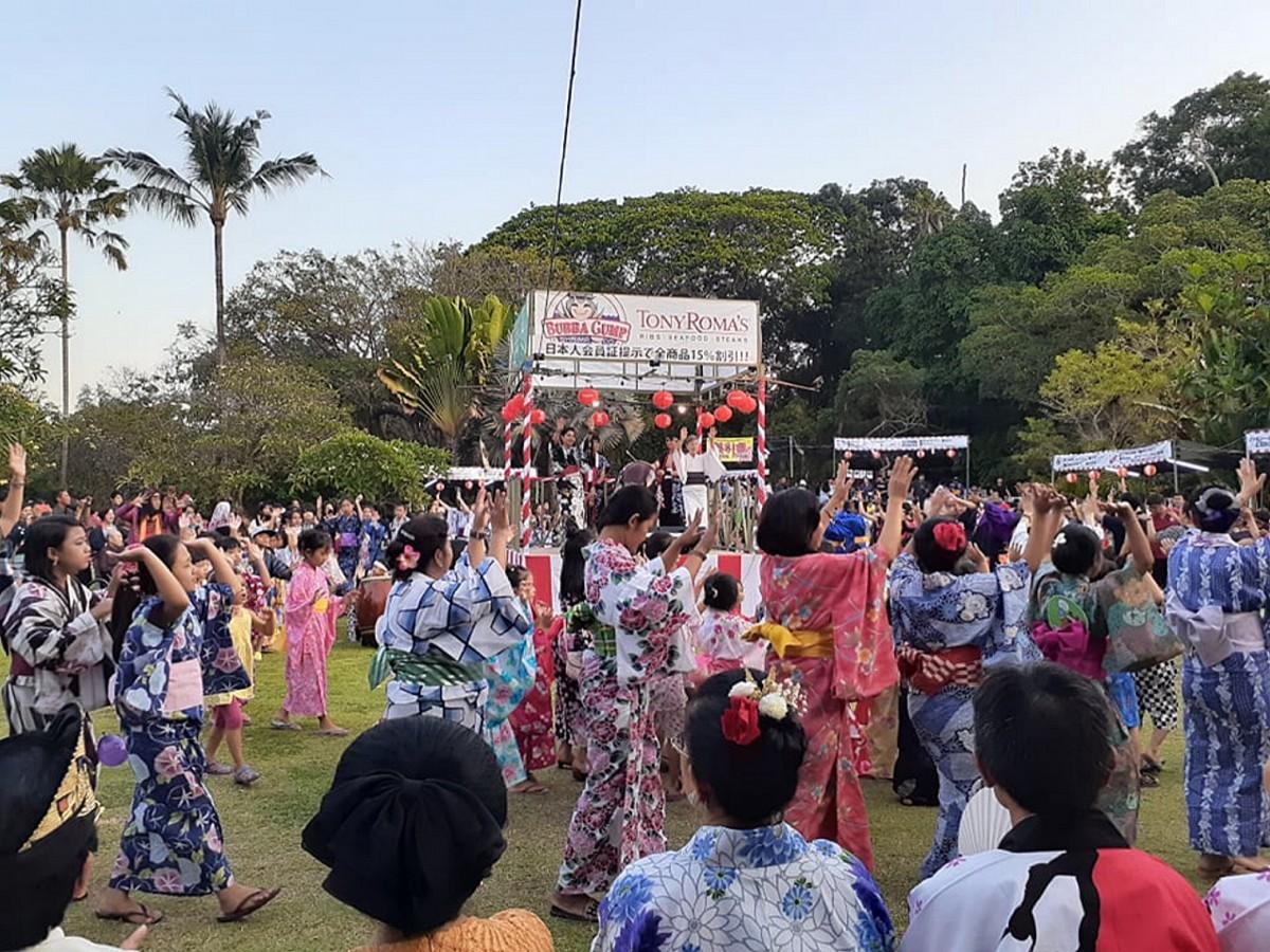 第26回バリ盆踊り大会の様子
