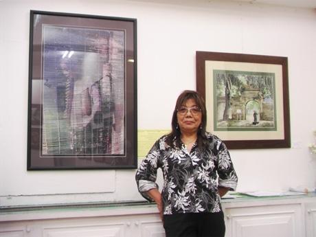 コンクール受賞作「ハノイからの手紙(LETTER FROM HANOI)」展示会