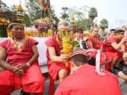 アユタヤで「世界タイ格闘技フェス」-伝説のムエタイ戦士像に祈り閉幕