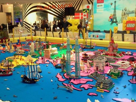 「LEGO & Emporium  World  Momentous  Landmarks」の会場