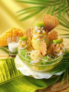 タイのスウェンセンで「もち米マンゴーアイス」-夏季限定で