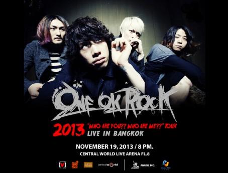 ONE OK ROCK LIVE TOUR 2013 IN BANGKOK