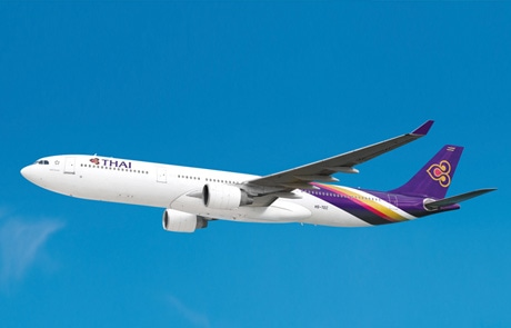 タイ国際航空A330-300型機