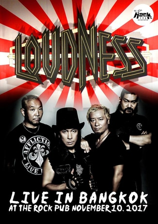 Loudness Live in Bangkok 2017