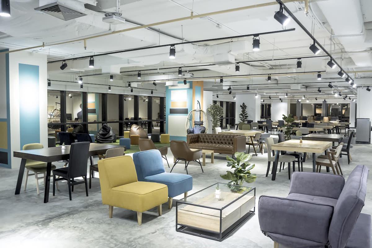 「The Company Bangkok」内のイベントスペース