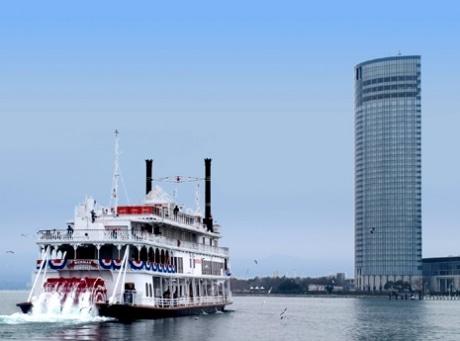 大津プリンスホテル港開港2周年記念プラン「ホテルランチ&ミシガンクルーズ」