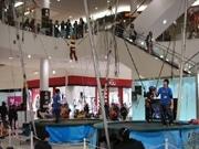 イオン草津で体験型トランポリンイベント-最大7メートルのジャンプも