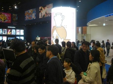 ワーナー・マイカル・シネマズ草津で開催された「びわ湖放送&藤井組 2009キャラクター映画祭」。連日満席とあって多くの来場者が訪れた。